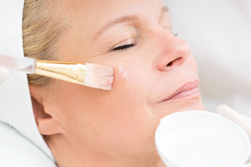 Reife Haut / Faltenbildung
